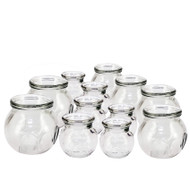 Royal Massage 12pc Fire Glass Cupping Jar Set
