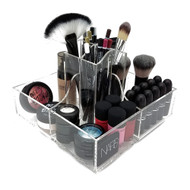 OnDisplay Abby Rotating Acrylic Cosmetic/Makeup Organizer Tray