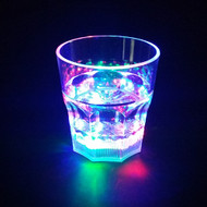 Modern Home LED Light Whiskey Lowball Glass