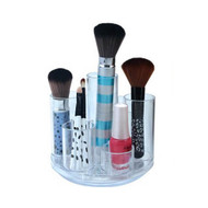 OnDisplay Andy Rotating Acrylic Cosmetic/Desktop Organizer Tray