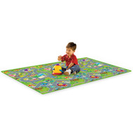 PlayScapes Portable Instant Children's Floor Play Mat - City View