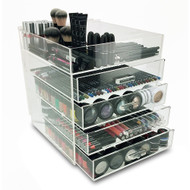 OnDisplay 5 Tier Acrylic Cosmetic/Makeup Organizer