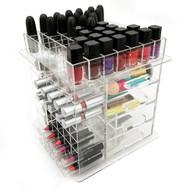 OnDisplay Elle Deluxe Handmade Rotating Acrylic Cosmetic/Makeup Organizer