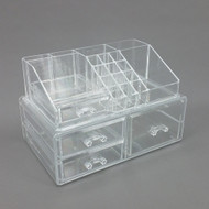 OnDisplay Angela Deluxe Tiered Acrylic Cosmetic/Jewelry Organizer