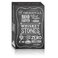 The Original Hand Carved 100% Natural Soapstone Whiskey Stones - 2 Sets of Stones