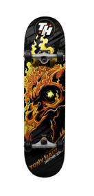 Tony Hawk Flaming Skull Skate Park 180 Series Complete Skateboard, 31 x 7.5-Inch