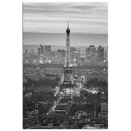 Modern Home Ultra High Resolution Tempered Glass Wall Art - Paris Eiffel Tower 2