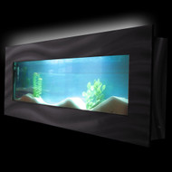 Aussie Aquariums Wall Mounted Aquarium - Vista Black