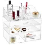 OnDisplay 4 Tier LA Acrylic Cosmetic/Makeup Organizer