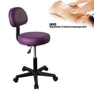 MT Backrest Stool - Purple