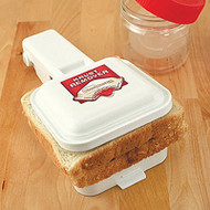 KrustBuster Sandwich Maker Deluxe Set includes Stamps and KupBuster