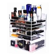 OnDisplay Cannes Luxury Handmade Acrylic 7 Tier Cosmetic/Makeup Organizer