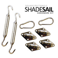 California Sun Sail Shade Hardware Kits - Quadrilateral Kit