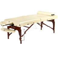 """Master Massage 30"""" SAXON™ Portable Massage Table Package with Therma-Top® - Adjustable Heating System & Reiki Panels"""