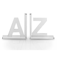 Vandue OnDisplay Luxe Crystal Acrylic Bookends A to Z