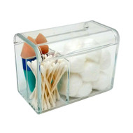 OnDisplay Yasmin Acrylic Cosmetics and Cotton Ball/Swab Organizer