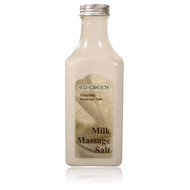 Royal Massage Natural Sea Salt Mineral Massage Scrubbing Salts 10.5oz Bottle - Milk