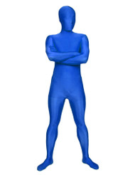 AltSkin Full Body stretch fabric Suit (X-Large, Blue)