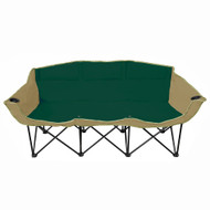 GoTEAM! 3 Seat Portable Folding Bench/Couch