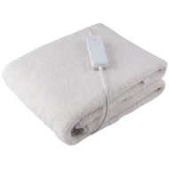 EMBERsoft Deluxe Sherpa Electric Massage Table Warmer Pad/Bed Under Blanket