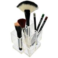 OnDisplay Acrylic Cosmetic Brush Organizer
