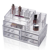 OnDisplay Isabella 5 Drawer Tiered Cosmetic/Jewelry Organizer