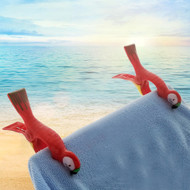 Modern Home Beach Towel Clips - Set of 2