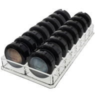 OnDisplay 16 Section Compact Cosmetic Organizer