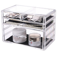 OnDisplay Iris 4 Drawer Cosmetic/Jewelry Organizer