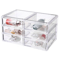 OnDisplay Megan 6 Drawer Cosmetic/Jewelry Organizer