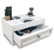 OnDisplay Millie Deluxe Wood Cosmetics/Makeup Organization Station