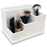 OnDisplay Coraline Deluxe Wood Cosmetics/Makeup Organization Station