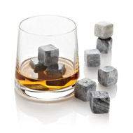 2 Sets of Stones - Original Hand Carved 100% Natural Soapstone Whiskey Stones