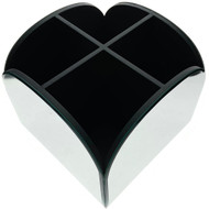 OnDisplay Cosmetic Makeup Carousel - 4 Bin Curved Mirror Drawer Design - Perfect for Vanity, Bathroom Counter, or Dresser