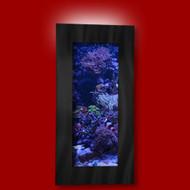Aussie Aquariums Wall Mounted Aquarium - Verticali Black