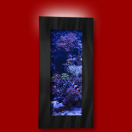 Aussie Aquariums Wall Mounted Aquarium - Verticali Black