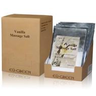 Royal Massage Natural Sea Salt Mineral Massage Scrubbing Salts (80g packets x 10) - Vanilla