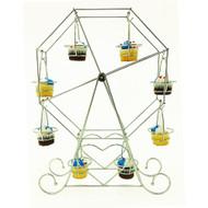 OnDisplay Chromed Steel Cupcake Ferris Wheel