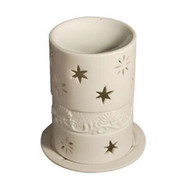 Royal Massage Tea Light Aromatherapy Oil Burner - Cup shaped with Holder