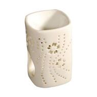 Royal Massage Tea Light Aromatherapy Oil Burner - Rectangular Column