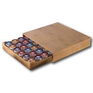 Modern Home Bamboo Keurig®/Nespresso Vertuoline® Coffee Pod Drawer