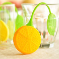 Modern Home Citrus Lemon Silicone Loose Tea Infuser