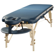 Concord Elite Professional Oversized Portable Massage Table w/Bonuses - Reiki Panel BabySoft Leather Ultra Quiet Treatment therapy Table (Charcoal)