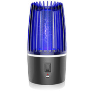 Modern Home USB Bug Zapper - Non-Toxic Electric Flying Insect/Mosquito Killer with UV Lamp - Light Emitting Insect Trap with Electric UV Lamp for Indoors