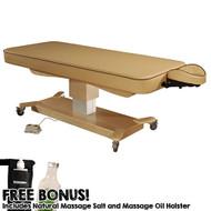 MaxKing Comfort Electric Lift Table w/ Bonus Items