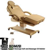 MaxKing Salon Electric Lift Table w/ Bonus Items