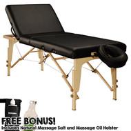 Midas-Tilt Massage Table Package w/ Bonus Items