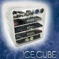 OnDisplay Luxury Ice Cube 5 Tier Acrylic Cosmetic/Makeup Organizer