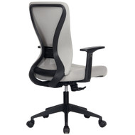 Modern Home Xelo Solo Mid-Back Desk/Office Task Chair, Computer Ergonomic Mesh Back Lumbar Support with Armrests