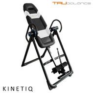 TruBalance Kinetiq SL Pro Deluxe Inversion Table - Glacier White/Obsidian